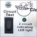Circuit Testing Indicator Light