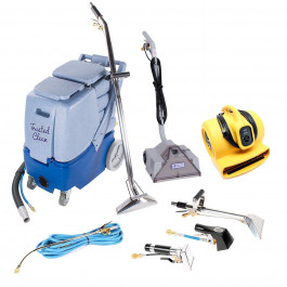 Professional 12 Gallon Carpet Cleaning Extractor & Powerhead Bundle w/ Tools